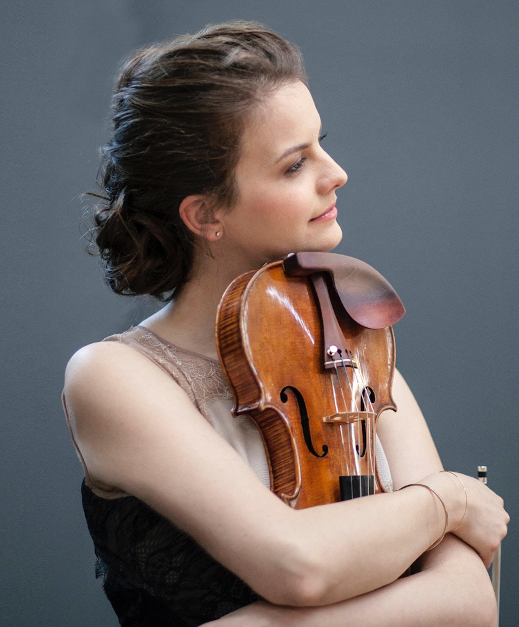 Fiolinist Veronika Eberle