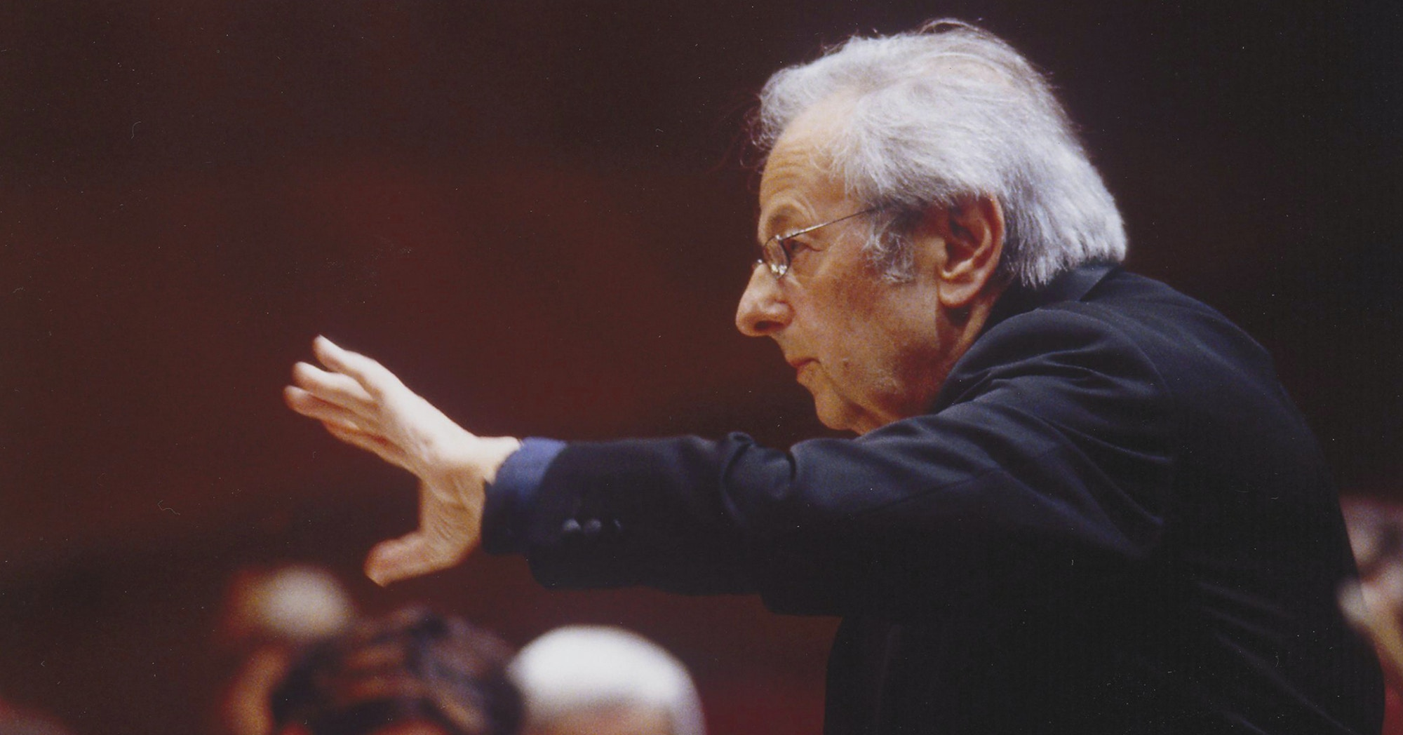 Conductor André Previn