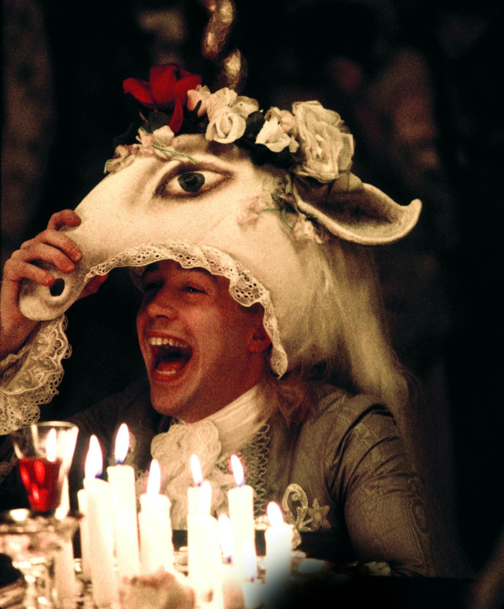 Fra filmen Amadeus: Mozart med maske