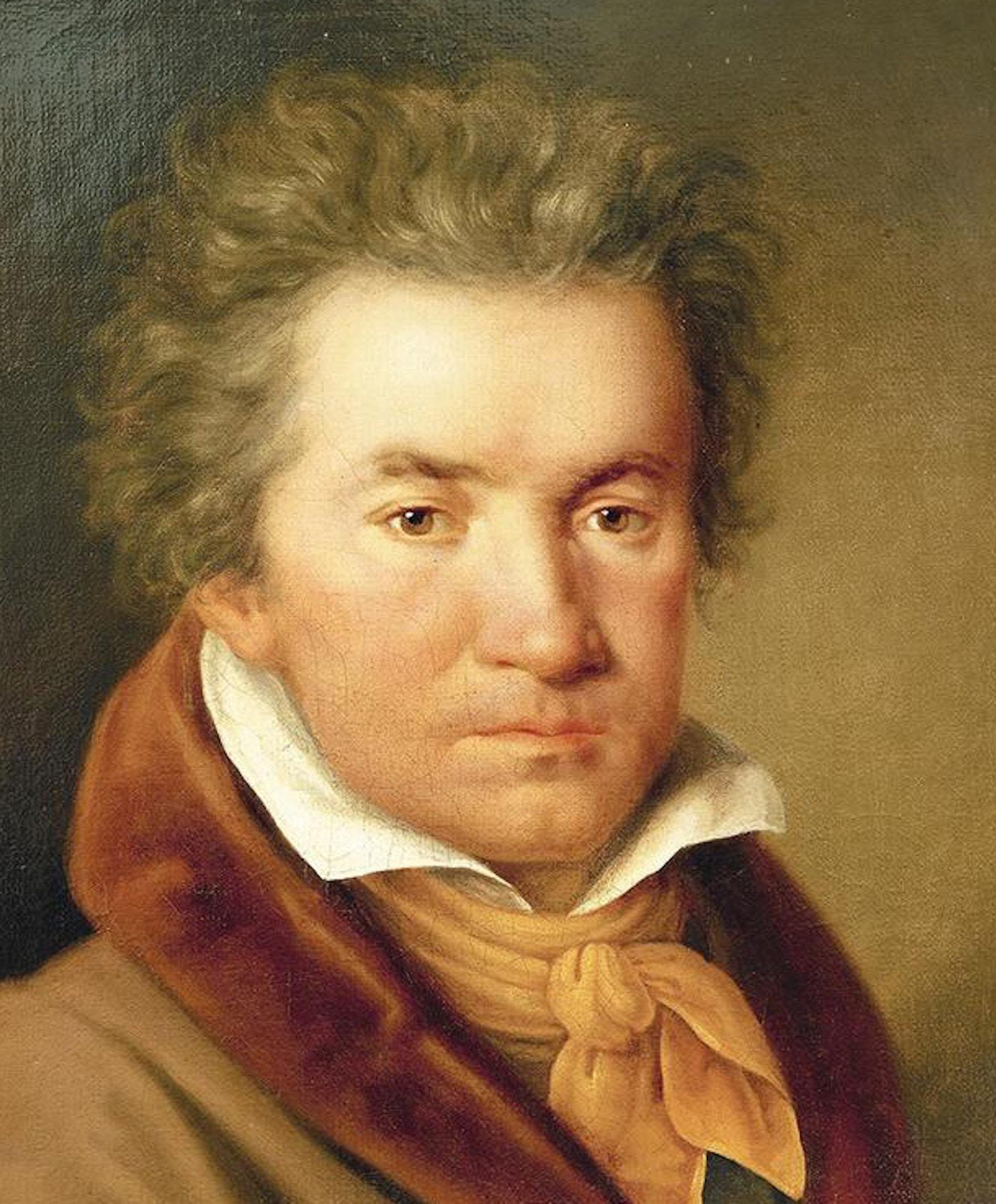 Portrett av Ludwig van Beethoven