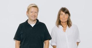 Bjarte Tjøstheim og Kari Slaatsveen