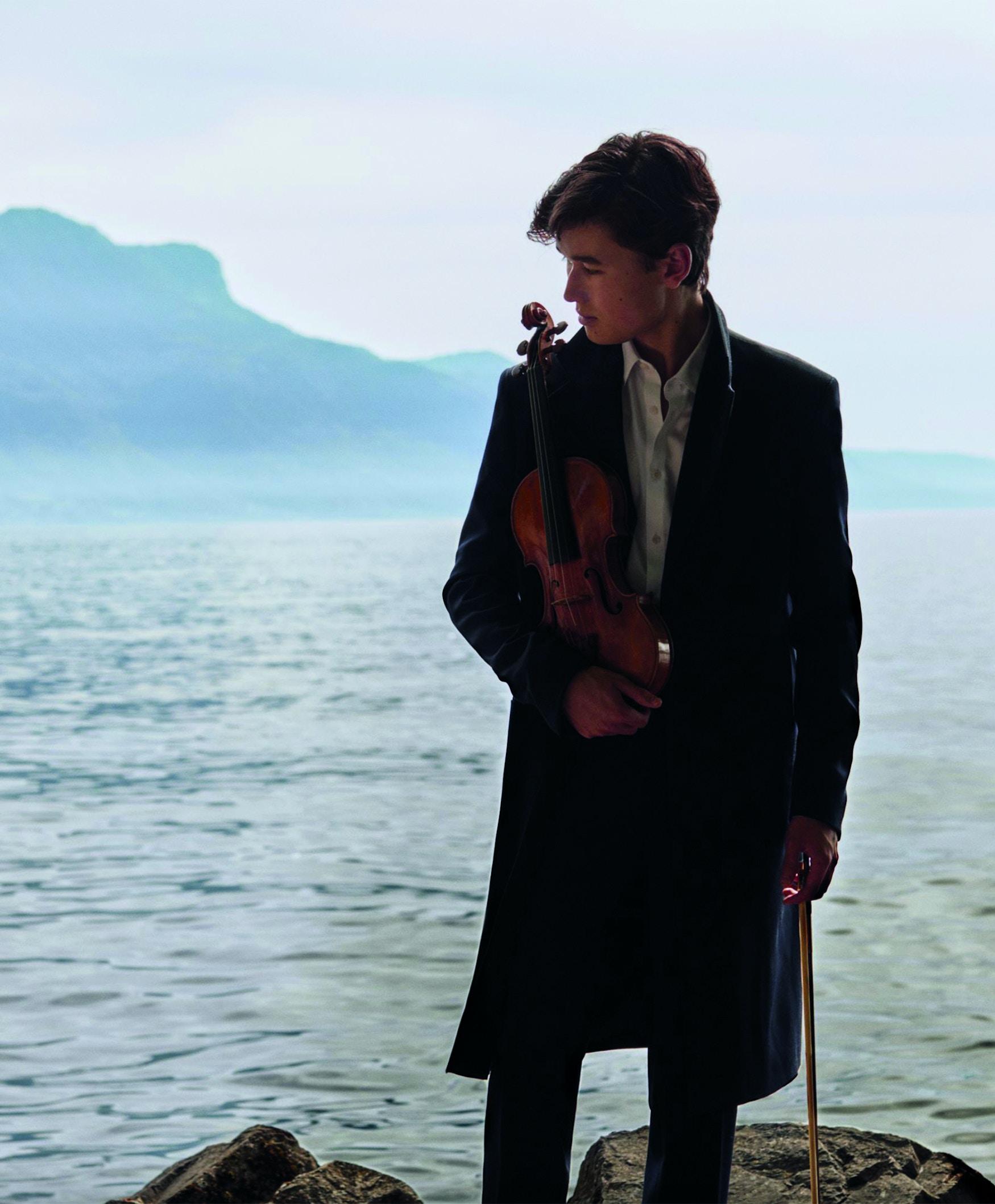 Fiolinist Daniel Lozakovitch