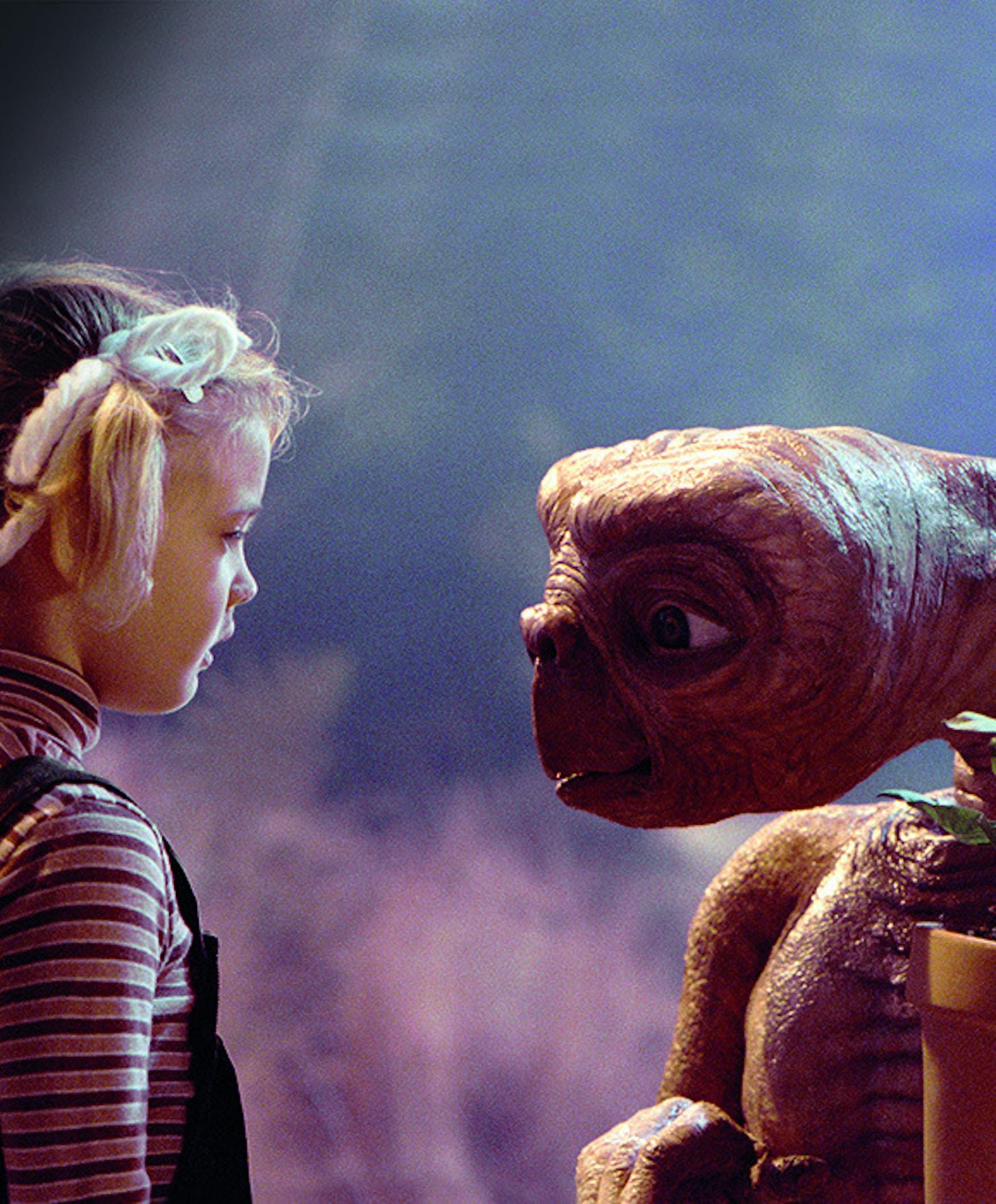 Foto fra filmen E.T.