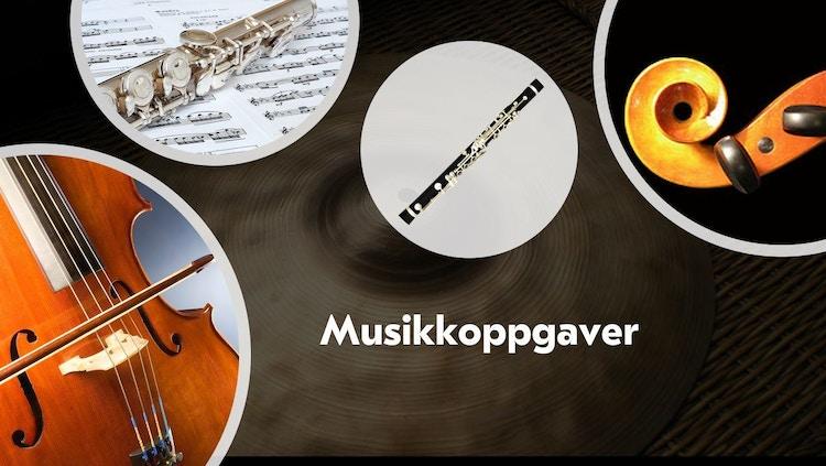 Eventyrskogen Musikkoppgaver