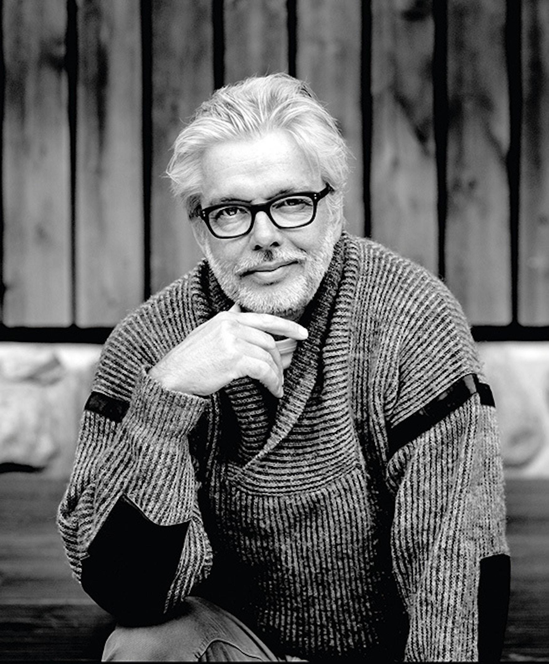 Conductor Jukka Pekka Saraste.