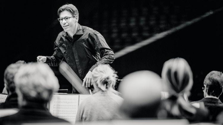 Klaus Makela rehearsal