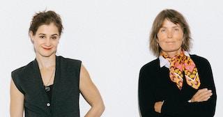 Maria Kjos Fonn og Kari Slaatsveen.