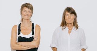 Pernille Sørensen og Kari Slaatsveen.
