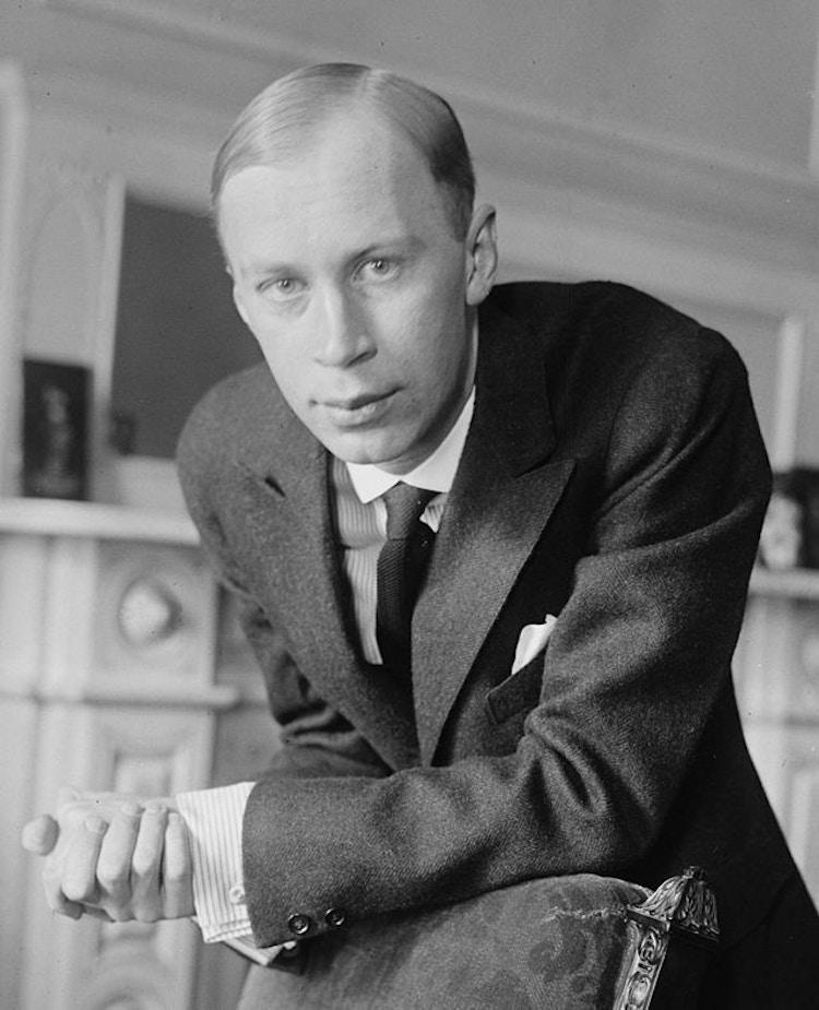 Sergei Prokofiev circa 1918