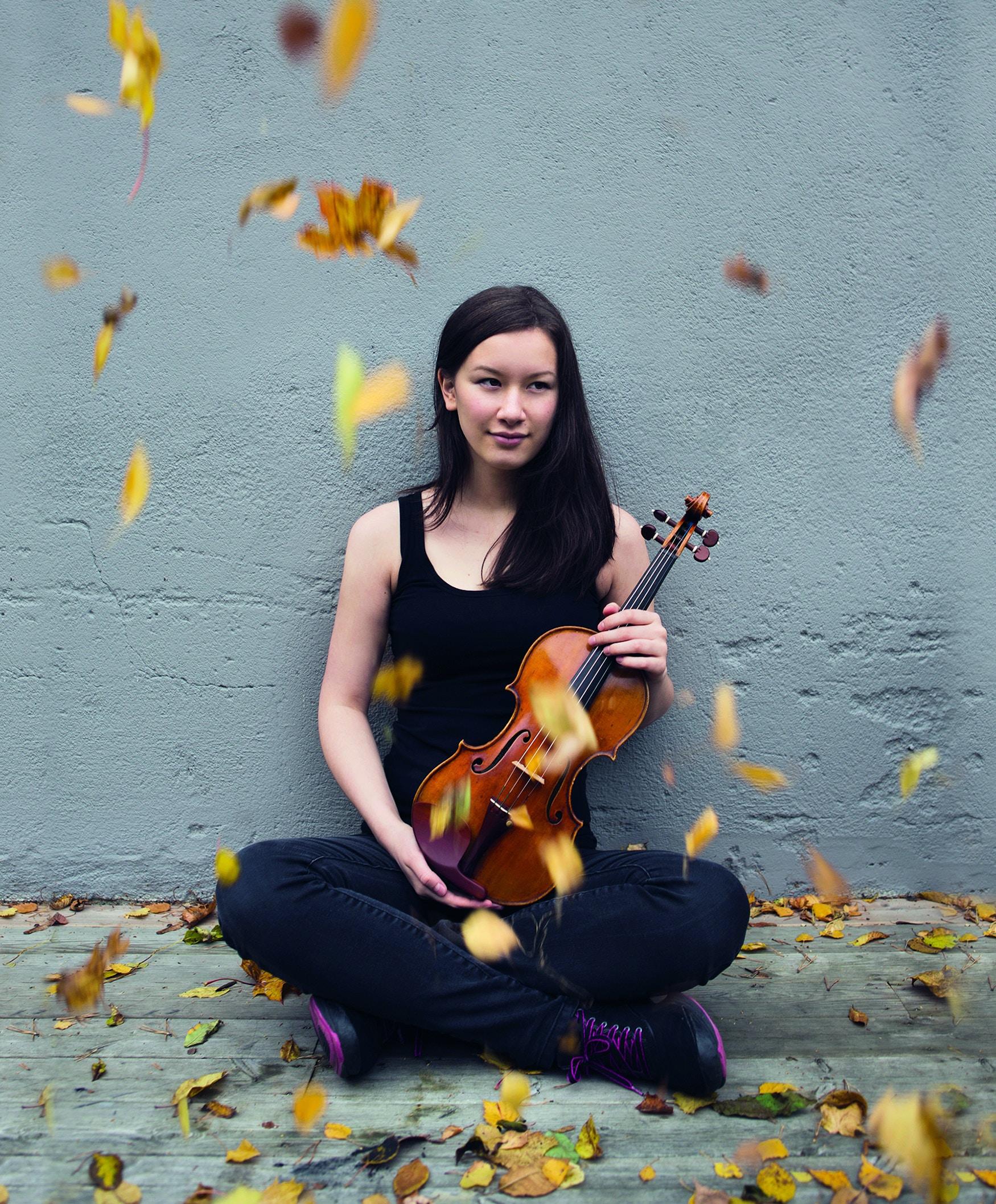 Fiolinist Sonoko Miriam Welde.