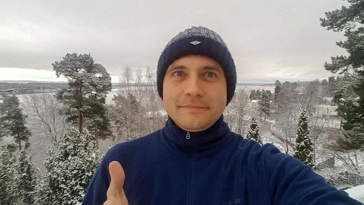 Vasily Petrenko på joggetur